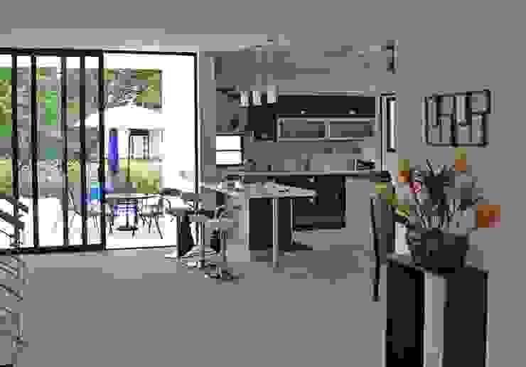 Proyectos Residenciales Cocinas modernas de MORAND ARQUITECTURA Moderno