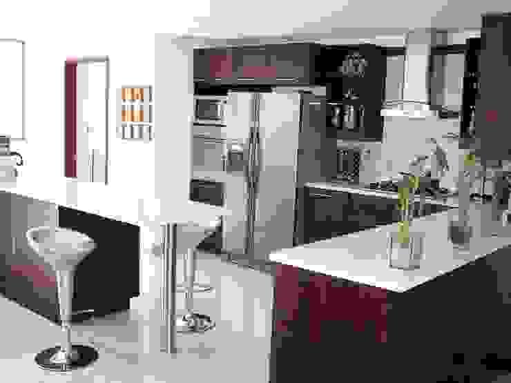 Diseno de Cocinas: Cocinas de estilo  por Ladosur,
