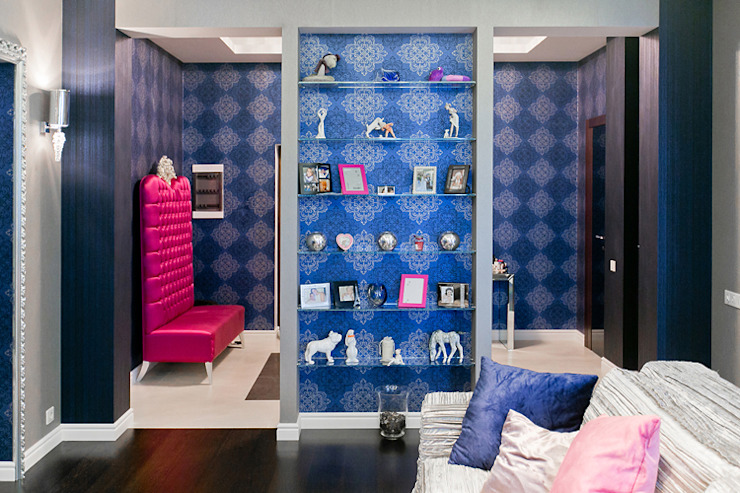 Modern living room by Designer Olga Aysina Modern