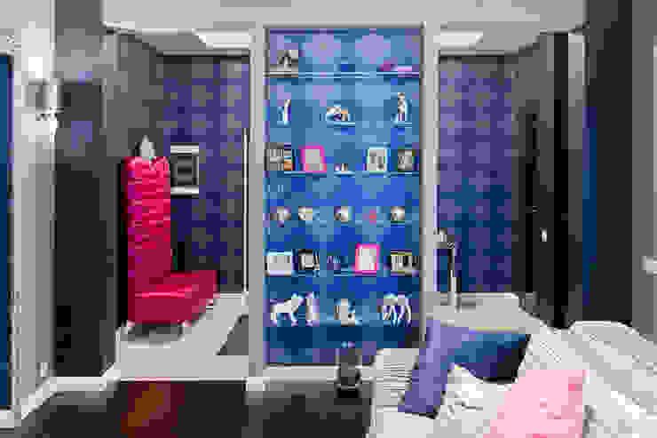 Living room by Designer Olga Aysina, Modern