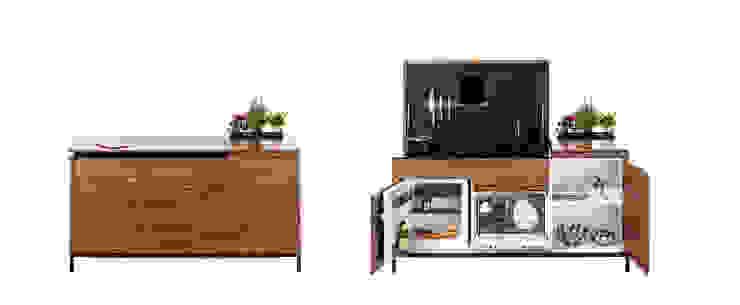 Charlotte Raynaud Studio KitchenCabinets & shelves Wood