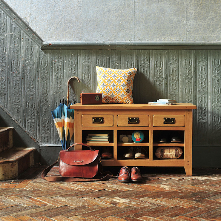 Oakland Shoe Organiser The Cotswold Company Corridor, hallway & stairs Storage Wood