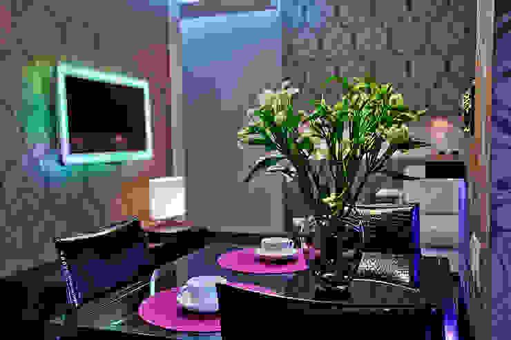 Salones de estilo ecléctico de Designer Olga Aysina Ecléctico