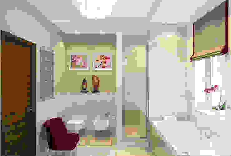 Designer Olga Aysina의  욕실
