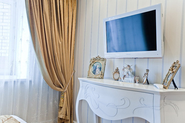 Дизайн интерьера 4-комнатной квартиры Спальня в скандинавском стиле от Designer Olga Aysina Скандинавский