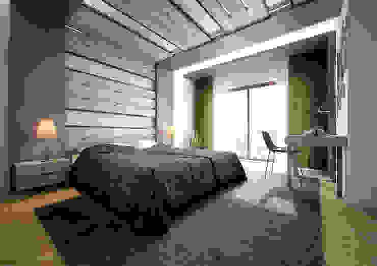 Point Dizayn – Yatak Odası : modern tarz , Modern Ahşap Ahşap rengi