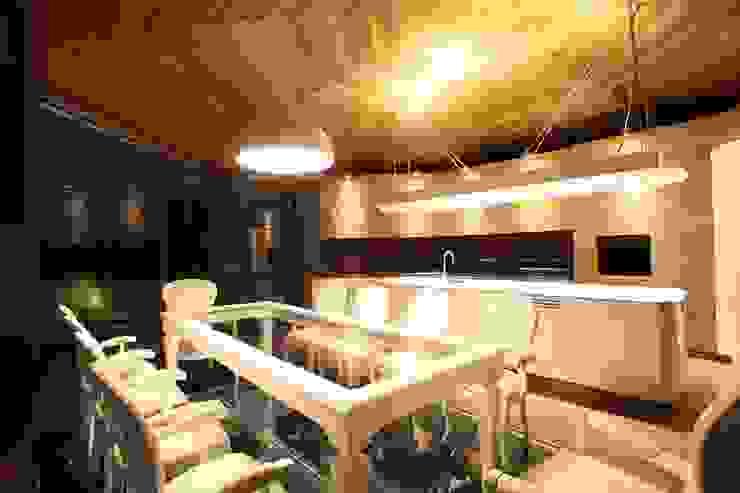 Беседкав п.Гринфилд Кухня в классическом стиле от ARCHDUET&DA Классический