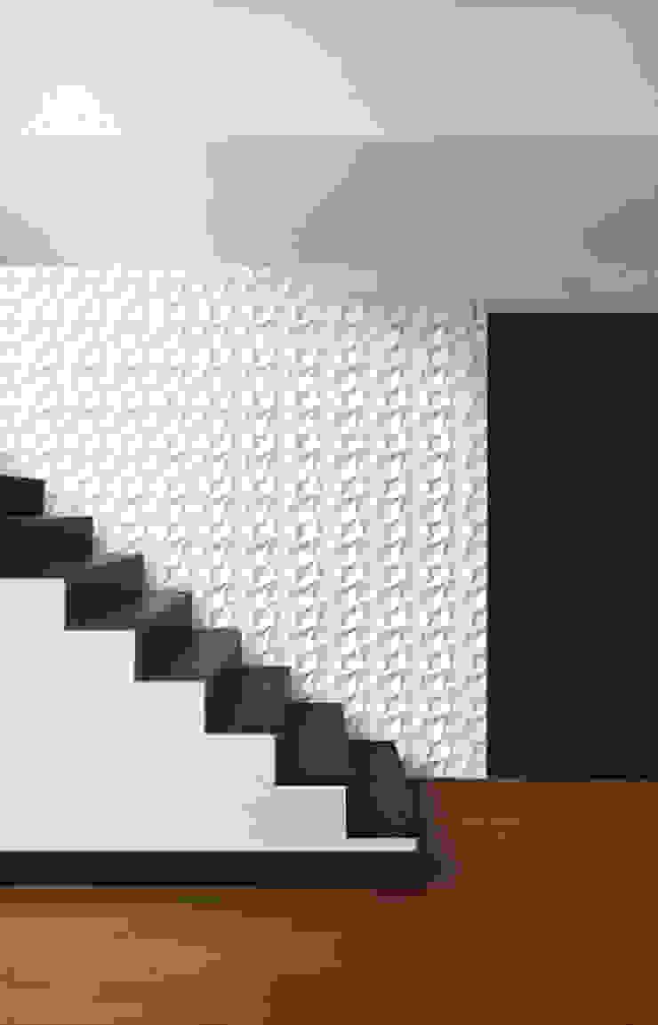 Panels 3D Dunin Wallstar Modern Corridor, Hallway and Staircase by DecoMania.pl Modern