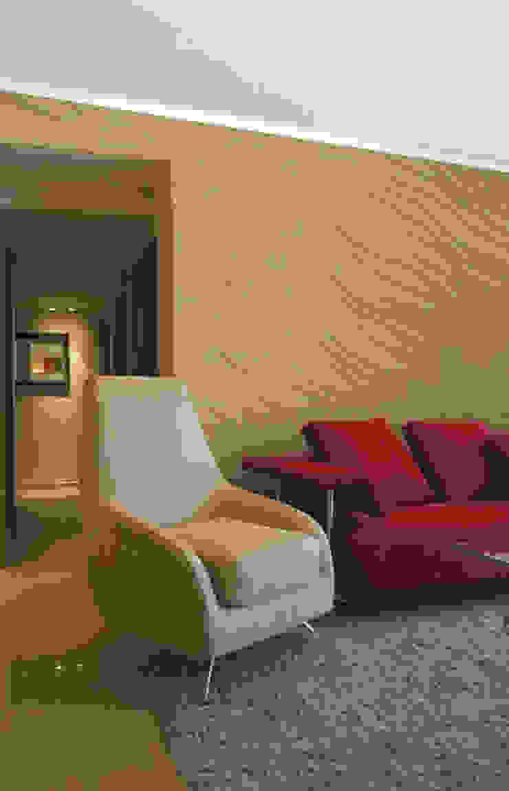 Panels 3D Dunin Wallstar Modern Living Room by DecoMania.pl Modern