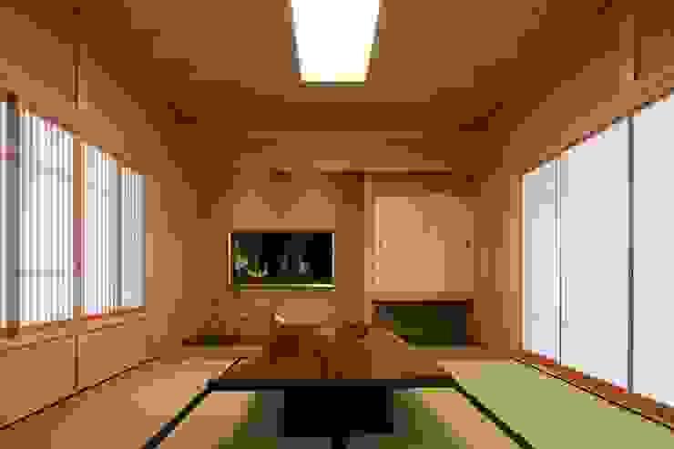 数寄屋の精神が息づく家 モダンデザインの 書斎 の 株式会社蔵持ハウジング モダン