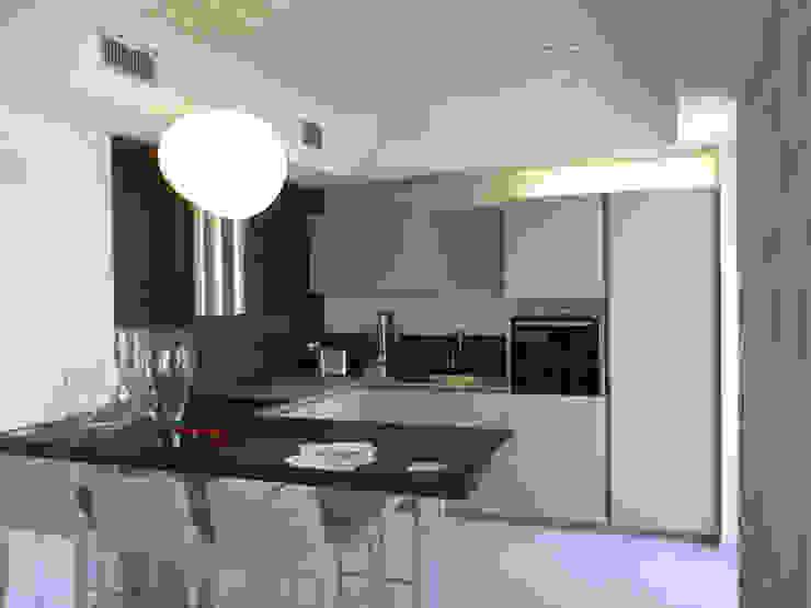 PASSIVHAUS [BOLGARE – BG] www.marlegno.it – Progetto: Arch. Luca Barcella Cucina moderna di Marlegno Moderno