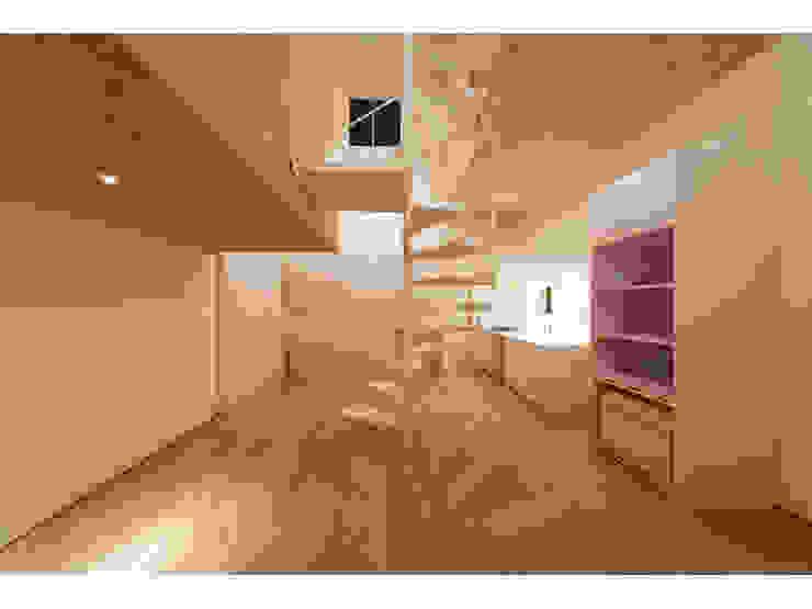 SN-house ミニマルデザインの リビング の TNdesign一級建築士事務所 ミニマル