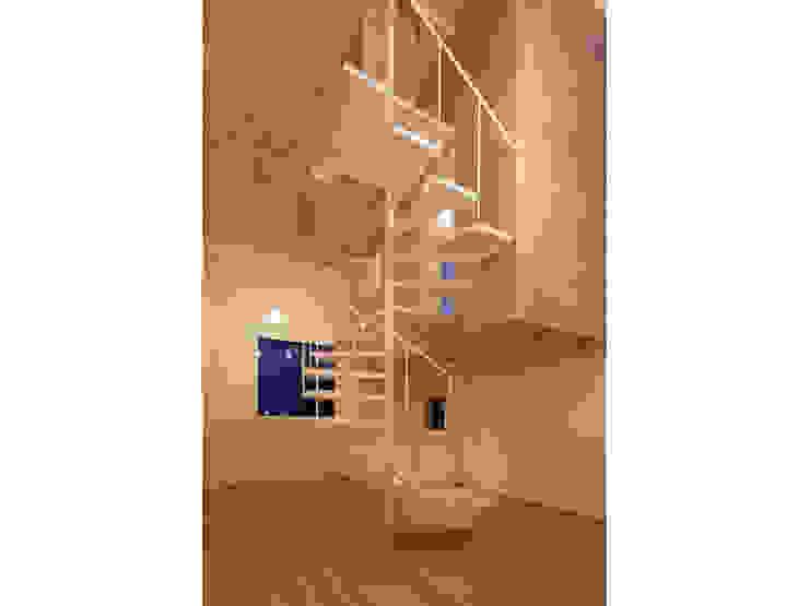 SN-house ミニマルスタイルの 玄関&廊下&階段 の TNdesign一級建築士事務所 ミニマル
