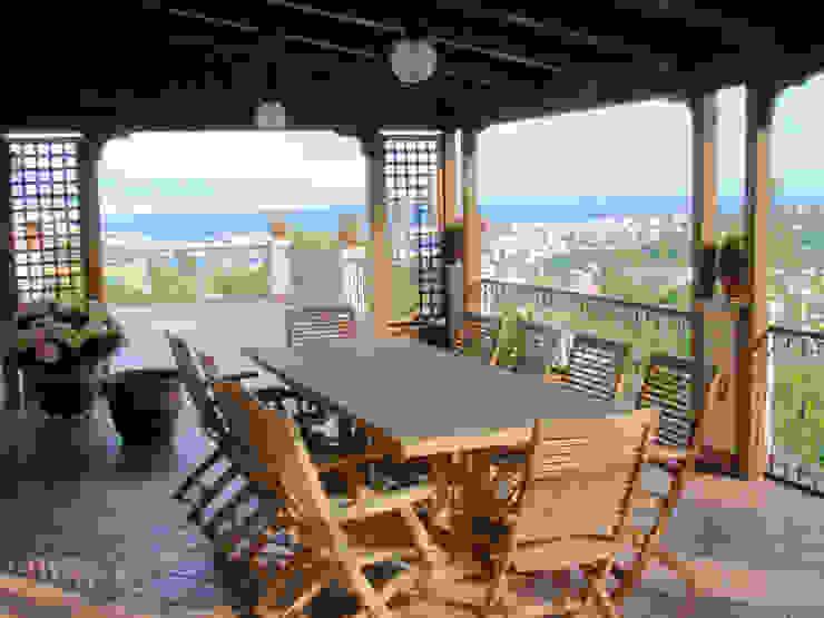 Ing. Edoardo Contrafatto Classic style balcony, veranda & terrace