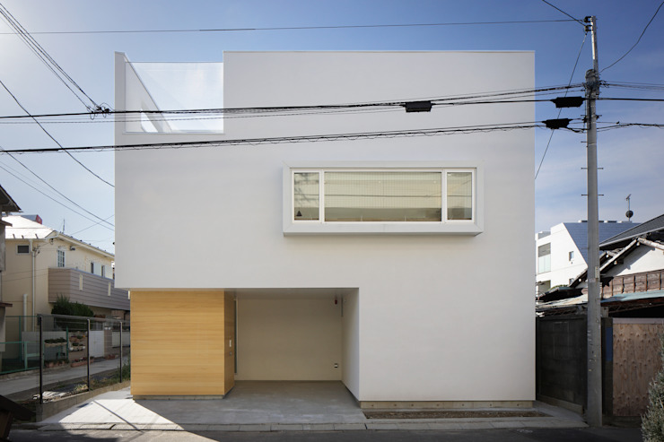 Casas de estilo  de アトリエ スピノザ, Moderno