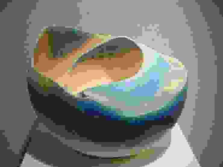 空 -ku-: 陶刻家 由上恒美                                          Ceramic Sculptor  tsunemi yukami  が手掛けた現代のです。,モダン 陶器