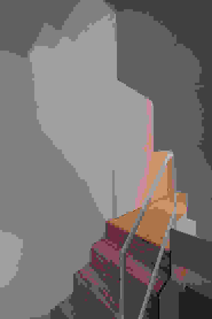 池上の家 モダンスタイルの 玄関&廊下&階段 の アトリエ スピノザ モダン