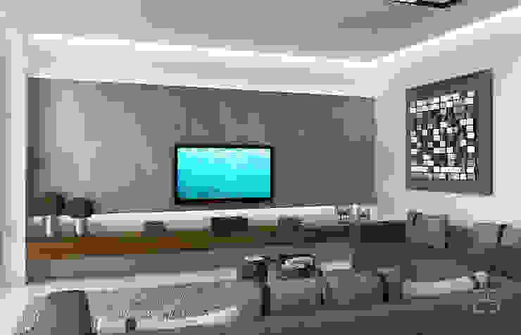 Мягкая зона отдыха Гостиная в стиле лофт от Studio 25 Лофт