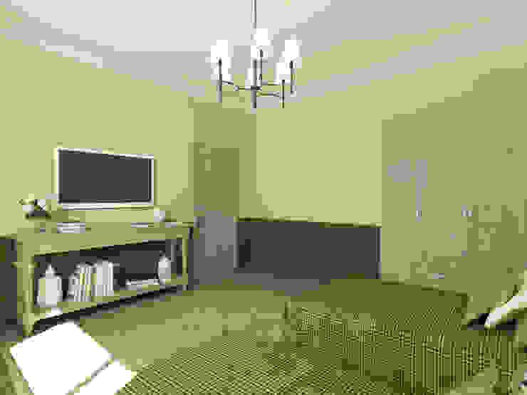 Неоклассика: визуализация и дизайн Дома Досуга Спальня в классическом стиле от OK Interior Design Классический