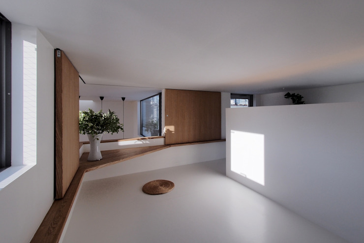 Dormitorios infantiles de estilo  de アトリエ スピノザ, Moderno