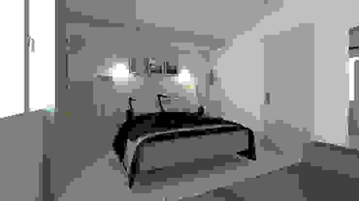 Scandinavian style bedroom by COLOMBE MARCIANO Scandinavian