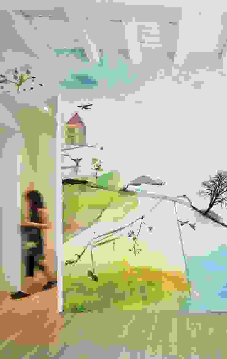 HF001-Sweet-Home por House Frame Wallpaper & Fabrics