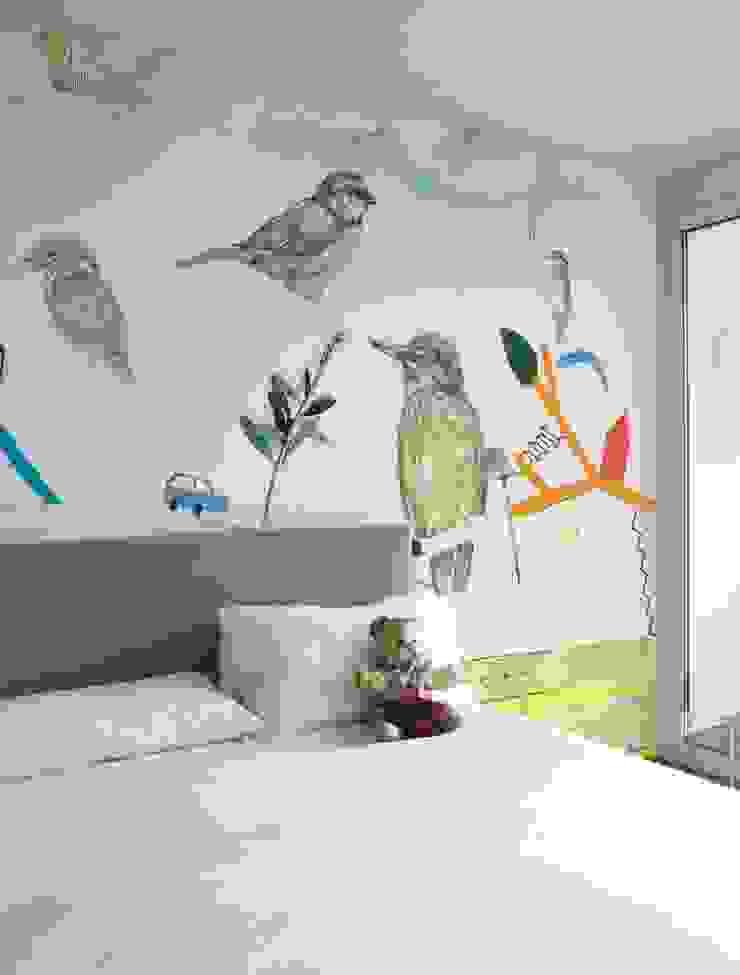 HF003-The-Birds por House Frame Wallpaper & Fabrics
