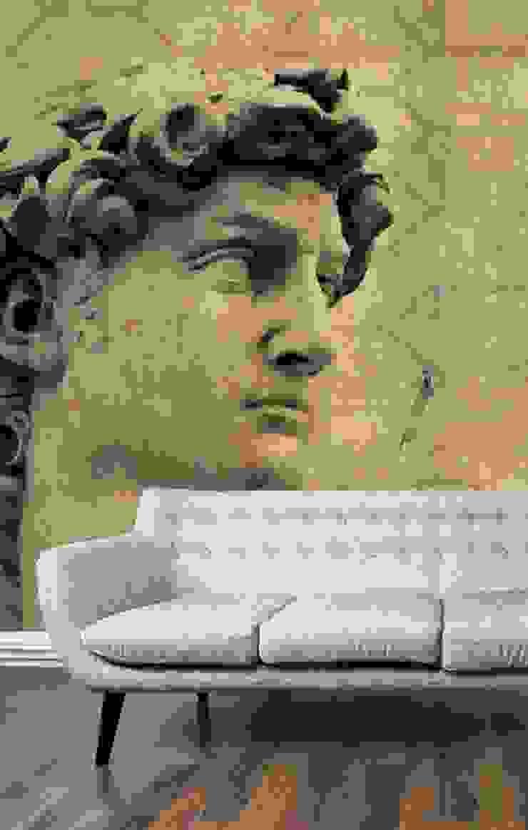 HF019-01-David por House Frame Wallpaper & Fabrics