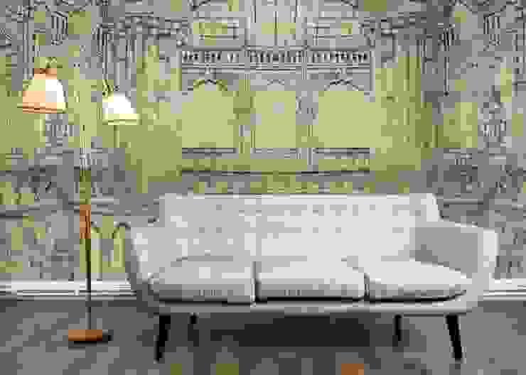 HF020-Gothic-Monument por House Frame Wallpaper & Fabrics