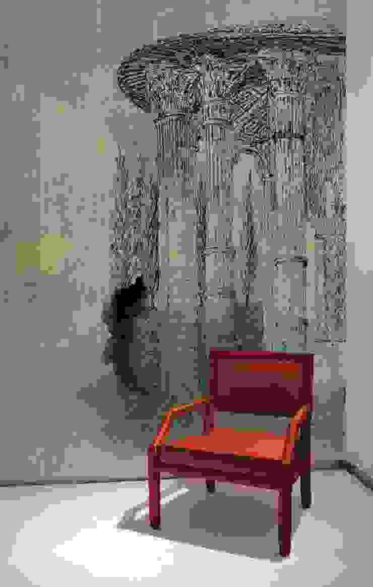 HF024-01-Temple-of-Vesta por House Frame Wallpaper & Fabrics