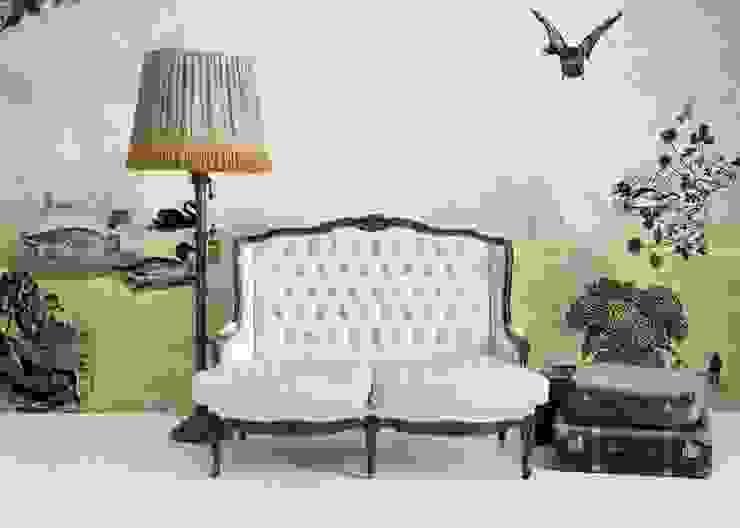 HF032-Duck-Pond por House Frame Wallpaper & Fabrics