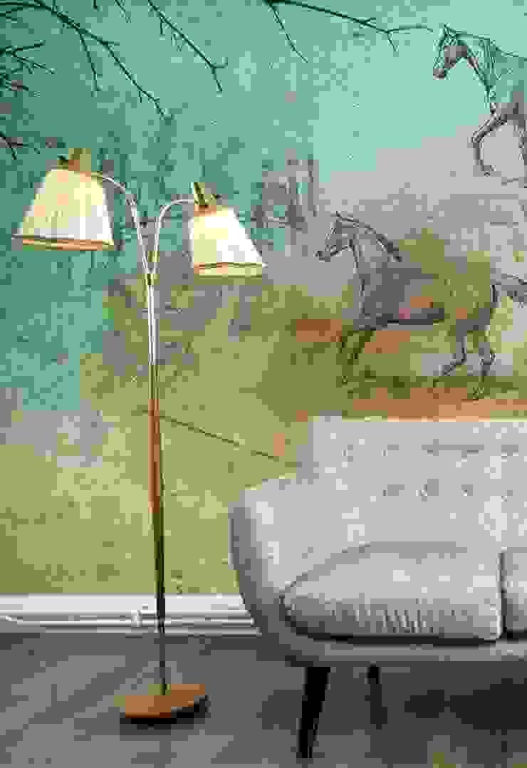 HF030-Horserace por House Frame Wallpaper & Fabrics