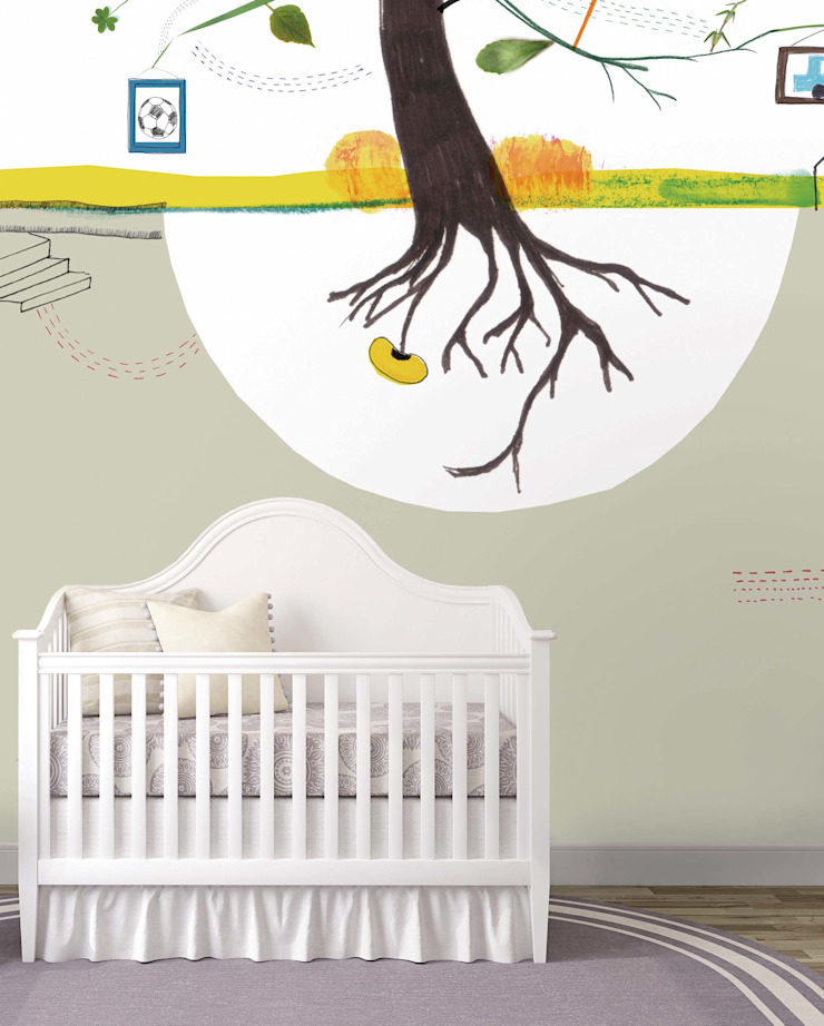 HF044-Natural Park por House Frame Wallpaper & Fabrics