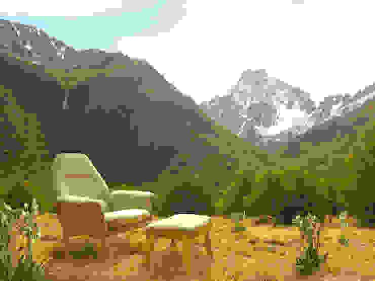 SILLON ORQUIDEA de TocToc - Muebles y Objetos Argentinos Escandinavo Textil Ámbar/Dorado