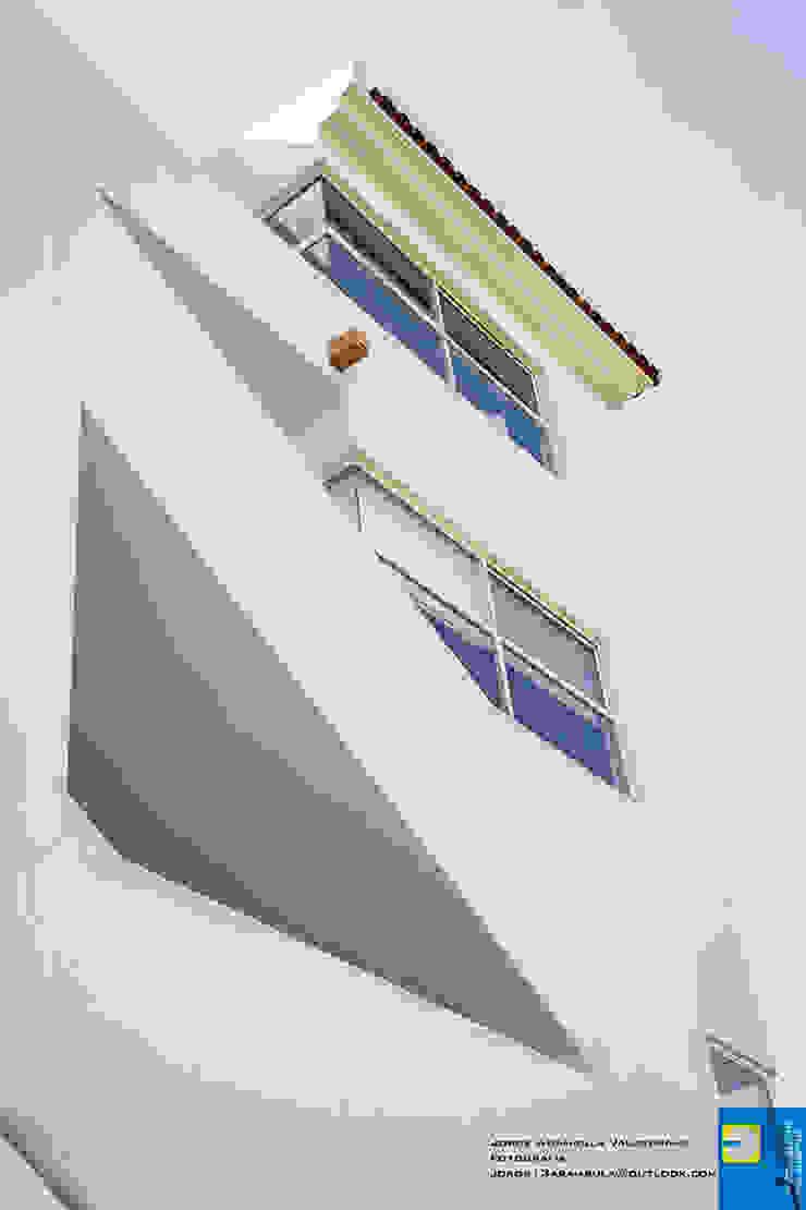 fachada Casas modernas de Excelencia en Diseño Moderno Ladrillos