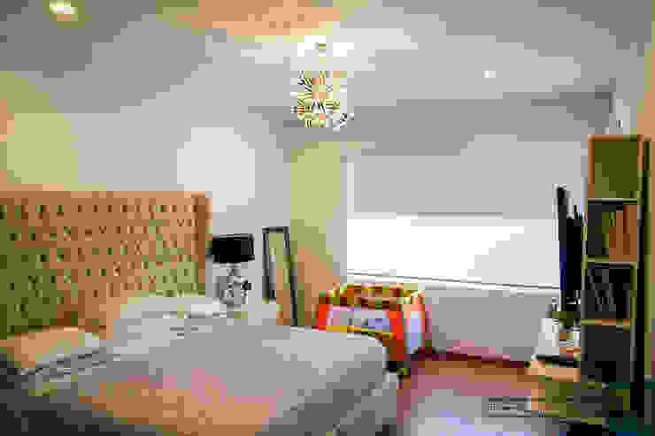la recamara Dormitorios modernos de Excelencia en Diseño Moderno Derivados de madera Transparente