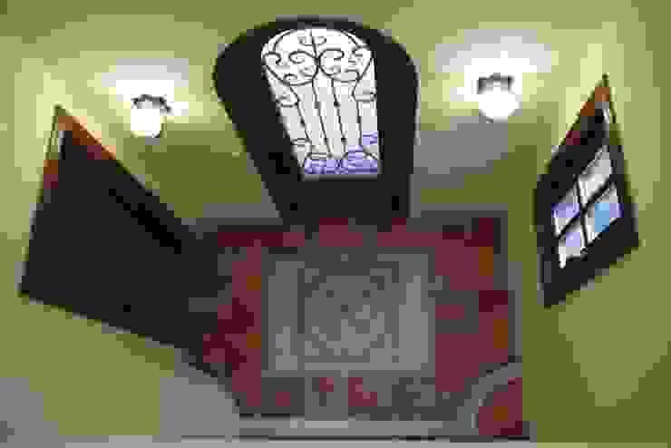 TA house | SANKAIDO 地中海スタイル 玄関&廊下&階段 の SANKAIDO | 株式会社 参會堂 地中海