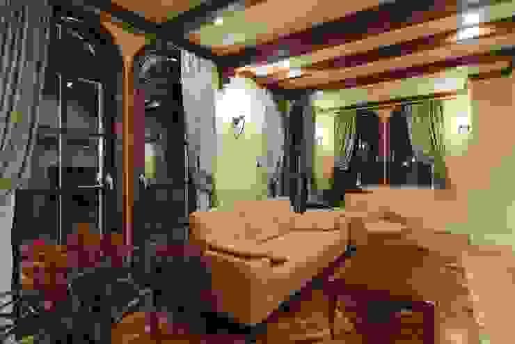 TA house | SANKAIDO 地中海デザインの リビング の SANKAIDO | 株式会社 参會堂 地中海