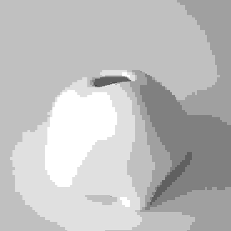 雲シリーズ 佇む clouds series Nestle: 陶刻家 由上恒美                                          Ceramic Sculptor  tsunemi yukami  が手掛けた現代のです。,モダン 陶器