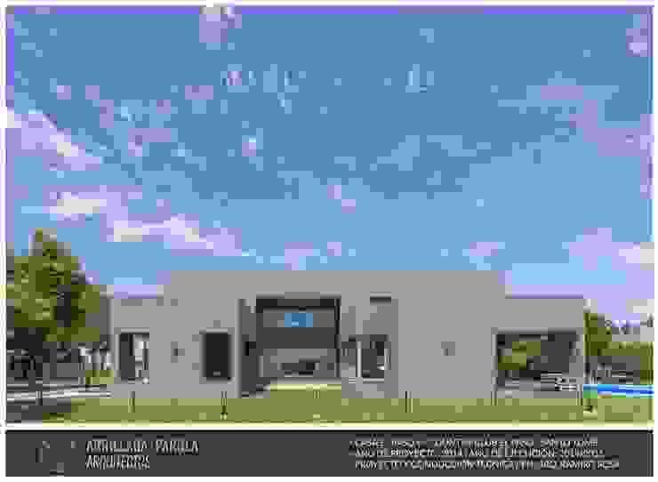 Casa El Paso V Casas modernas: Ideas, imágenes y decoración de ARRILLAGA&PAROLA Moderno