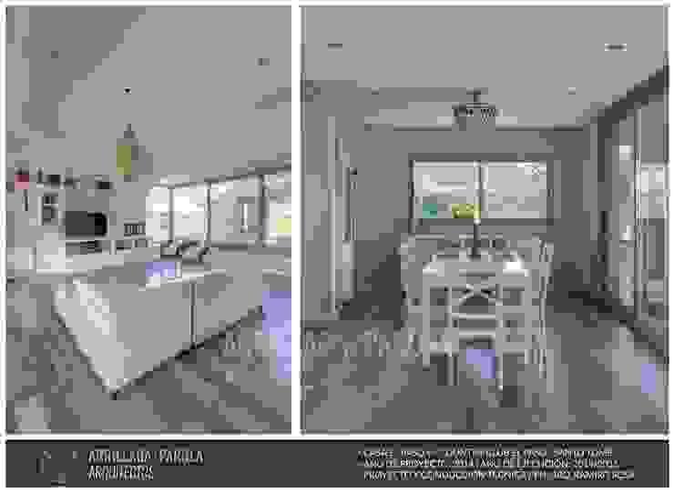Casa El Paso V Comedores modernos de ARRILLAGA&PAROLA Moderno