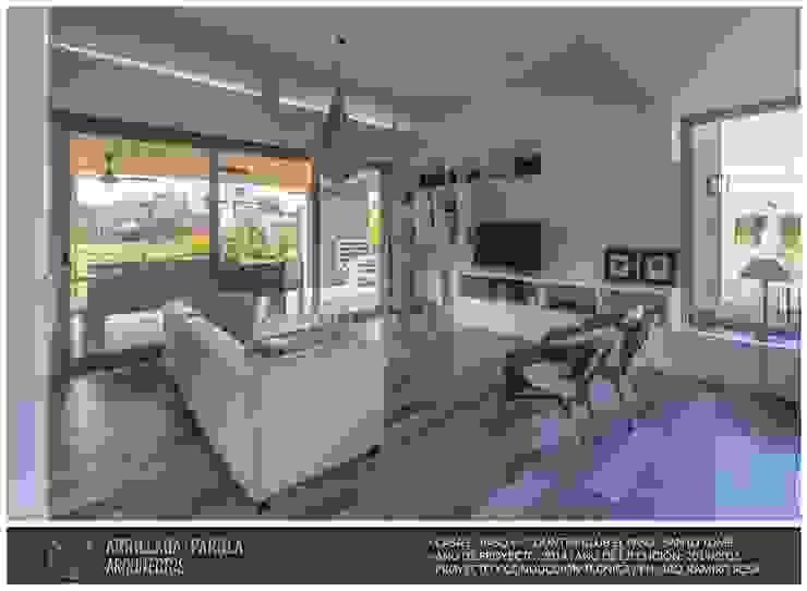 Casa El Paso V Livings modernos: Ideas, imágenes y decoración de ARRILLAGA&PAROLA Moderno