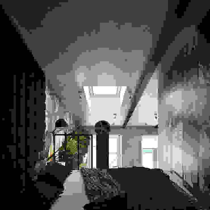 Хороший план Dormitorios de estilo industrial