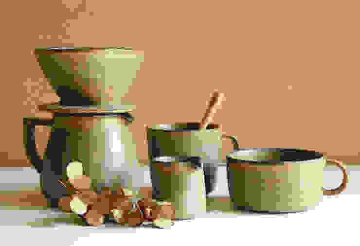 カフェ シリーズ: 陶器 あ⇔んが手掛けた折衷的なです。,オリジナル 陶器