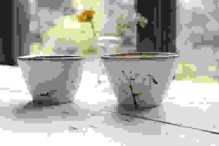 猪口: 陶器 あ⇔んが手掛けた折衷的なです。,オリジナル 陶器