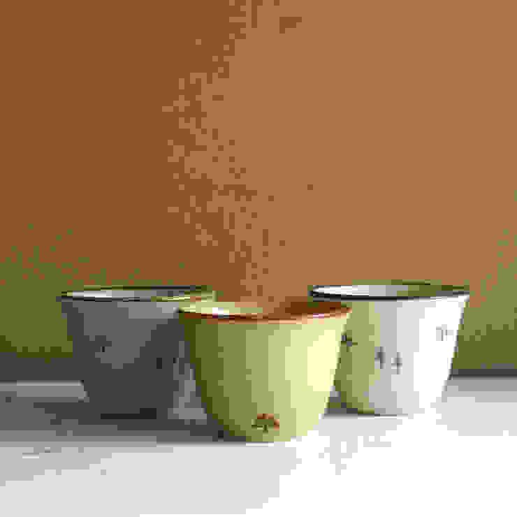 フリーカップ 木々の間で散歩: 陶器 あ⇔んが手掛けた折衷的なです。,オリジナル 陶器