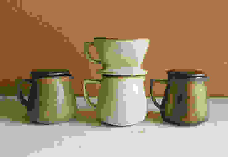 カフェ シリーズ : 陶器 あ⇔んが手掛けた折衷的なです。,オリジナル 陶器