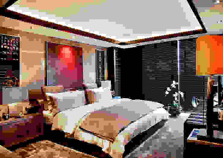 Chambre moderne par Kerim Çarmıklı İç Mimarlık Moderne