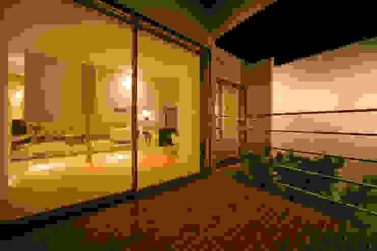 凛椛 モダンデザインの テラス の 一級建築士事務所 株式会社KADeL モダン