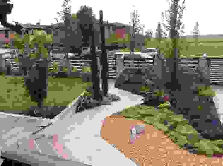 Taman Gaya Rustic Oleh I Giardini di Anna Rustic